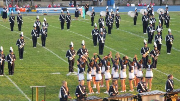 Tamaqua Area Raider Marching Band, TASD Sports Stadium, Tamaqua, 9-18-2015 (92)