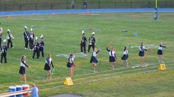 Tamaqua Area Raider Marching Band, TASD Sports Stadium, Tamaqua, 9-18-2015 (94)