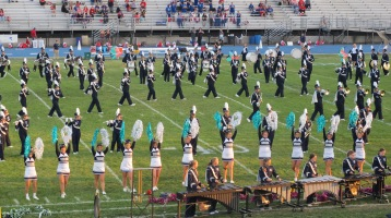 Tamaqua Area Raider Marching Band, TASD Sports Stadium, Tamaqua, 9-18-2015 (95)