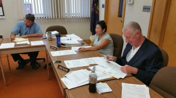 Tamaqua Borough Council Meeting, Borough Hall, Tamaqua, 9-1-2015 (16)