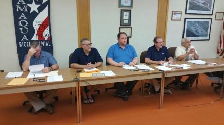 Tamaqua Borough Council Meeting, Borough Hall, Tamaqua, 9-1-2015 (18)
