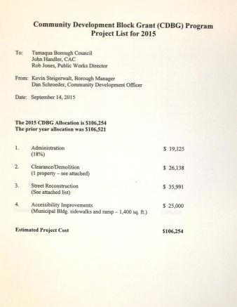 Tamaqua Borough Council Meeting, Borough Hall, Tamaqua, 9-15-2015 (9)