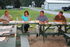 Tamaqua Borough Council Meeting, Lower Owl Creek Dam Pavilion, Tamaqua, 8-18-2015 (5)
