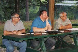 Tamaqua Borough Council Meeting, Lower Owl Creek Dam Pavilion, Tamaqua, 8-18-2015 (6)