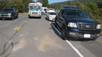 Two Vehicle Accident, Clamtown Road, SR443, Clamtown, Walker Township, 9-17-2015 (10)