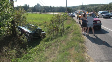 Two Vehicle Accident, Clamtown Road, SR443, Clamtown, Walker Township, 9-17-2015 (19)