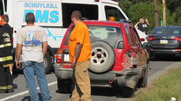 Two Vehicle Accident, Clamtown Road, SR443, Clamtown, Walker Township, 9-17-2015 (6)