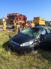 Woman Injured During MVA on Interstate 81, near MM 139 (2)