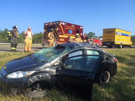 Woman Injured During MVA on Interstate 81, near MM 139 (5)