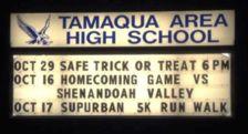 10-16-2015, Tamaqua Homecoming Game, vs Shenandoah Valley, at TASD Sports Stadium, Tamaqua