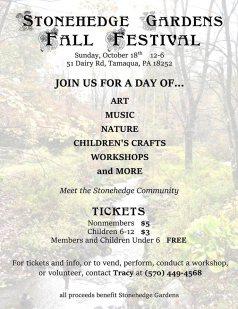 10-18-2015, Fall Festival, Stonehedge Gardens, South Tamaqua