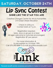 10-24-2015, Lip Sync Contest, Benefits The Link, Creative Changes Center, Brockton