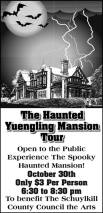 10-30-2015, Haunted Yuengling Mansion Tour, Yuengling Mansion, Pottsville