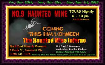 10-30, 31, 11-1-2015, Haunted Tours, Haunted House, No. 9 Mine and Museum, Lansford (2)