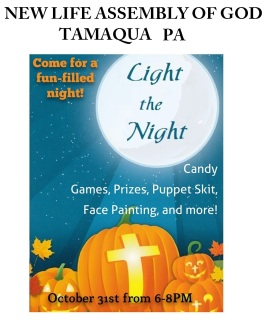 10-31-2015, Light The Night, New Life Assembly of God, Tamaqua