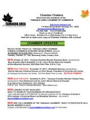 10-9-2015, Tamaqua Chamber of Commerce Chamber Chatters-page-001
