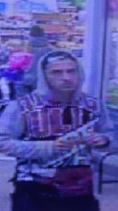 10-9-2015, Theft at Hometown WalMart