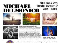 11-5-2015, Artist Meet and Greet, Michael Delmonico Art Show, Tamaqua Community Arts Center, Tamaqua