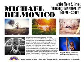 11-5-2015, Artist Meet and Greet, Michael Delmonico Art Show, Tamaqua Community Arts Center, Tamaqua