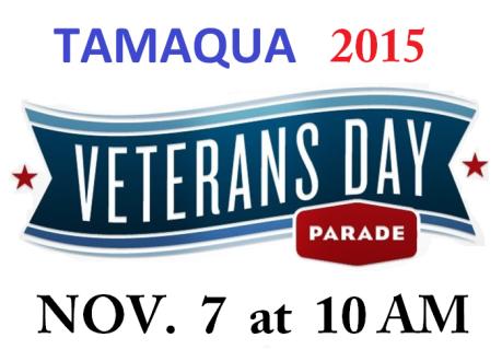 11-7-2015, Tamaqua Veterans Day Parade, Broad Street, Tamaqua