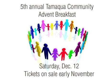 12-12-2015, Tamaqua Community Advent Breakfast, Zion Evangelical Lutheran Church, Tamaqua