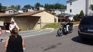 American Legion Bike Ride, from Jan Swan, Sports Zoo, Lansford, 9-7-2015 (15)