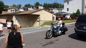 American Legion Bike Ride, from Jan Swan, Sports Zoo, Lansford, 9-7-2015 (16)