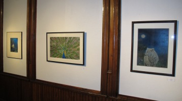 Artist Meet and Greet, Linda Stockman, Community Arts Center, Tamaqua, 9-3-2015 (13)