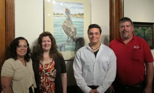 From left are lisette Erdman, Linda Stockman, James Erdman, and Marty Connors.
