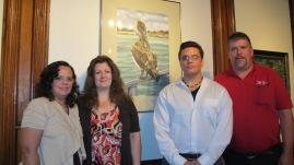 Artist Meet and Greet, Linda Stockman, Community Arts Center, Tamaqua, 9-3-2015 (7)