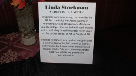 Artist Meet and Greet, Linda Stockman, Community Arts Center, Tamaqua, 9-3-2015 (8)