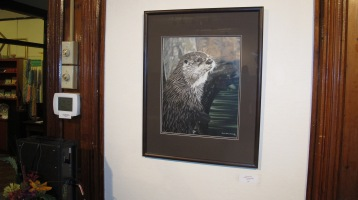 Artist Meet and Greet, Linda Stockman, Community Arts Center, Tamaqua, 9-3-2015 (9)