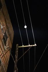 Balloons Cause Power Disruption, Rowe Street, Tamaqua, 10-16-2015 (1)