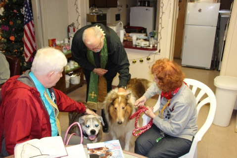 Blessing of the Animals, Calvary Episcopal Church, Tamaqua, 10-4-2015 (2)