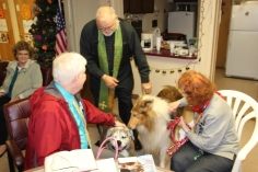 Blessing of the Animals, Calvary Episcopal Church, Tamaqua, 10-4-2015 (3)