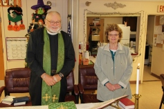 Blessing of the Animals, Calvary Episcopal Church, Tamaqua, 10-4-2015 (37)