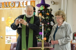 Blessing of the Animals, Calvary Episcopal Church, Tamaqua, 10-4-2015 (42)
