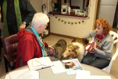 Blessing of the Animals, Calvary Episcopal Church, Tamaqua, 10-4-2015 (5)
