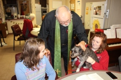 Blessing of the Animals, Calvary Episcopal Church, Tamaqua, 10-4-2015 (7)