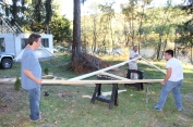 Building a Cabin from Camp Brainerd, Lower Owl Creek Reservoir, Tamaqua, 10-11-2015 (31)