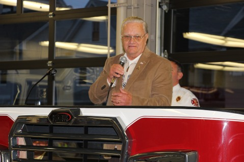 Dedication of New Fire Station, Pumper Truck, Boat, Lehighton Fire Department, Lehighton (116)