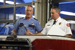 Dedication of New Fire Station, Pumper Truck, Boat, Lehighton Fire Department, Lehighton (130)