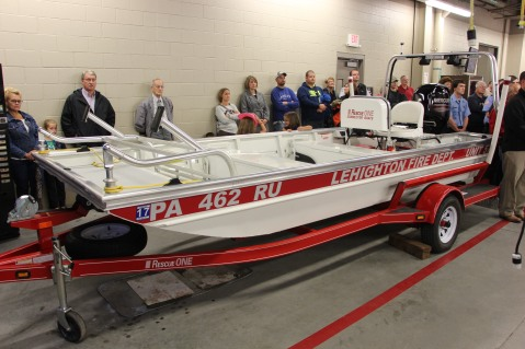 Dedication of New Fire Station, Pumper Truck, Boat, Lehighton Fire Department, Lehighton (148)