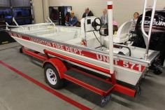 Dedication of New Fire Station, Pumper Truck, Boat, Lehighton Fire Department, Lehighton (163)