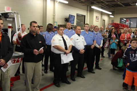 Dedication of New Fire Station, Pumper Truck, Boat, Lehighton Fire Department, Lehighton (17)