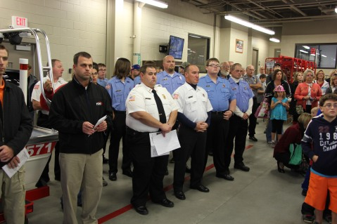 Dedication of New Fire Station, Pumper Truck, Boat, Lehighton Fire Department, Lehighton (17)