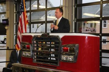 Dedication of New Fire Station, Pumper Truck, Boat, Lehighton Fire Department, Lehighton (25)