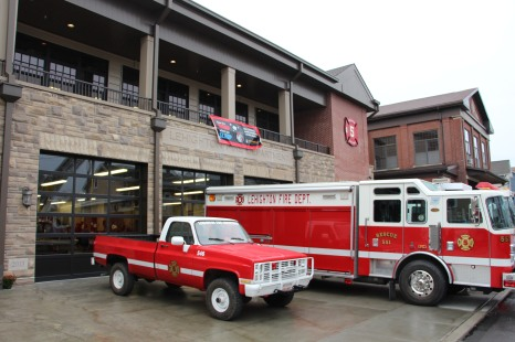 Dedication of New Fire Station, Pumper Truck, Boat, Lehighton Fire Department, Lehighton (4)