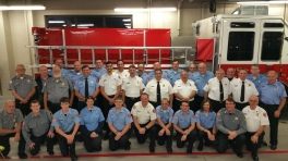 Dedication of New Fire Station, Pumper Truck, Boat, Lehighton Fire Department, Lehighton (402)