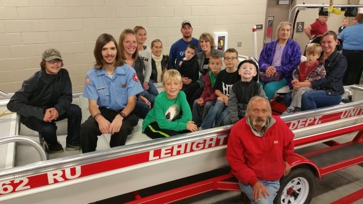 Dedication of New Fire Station, Pumper Truck, Boat, Lehighton Fire Department, Lehighton (403)